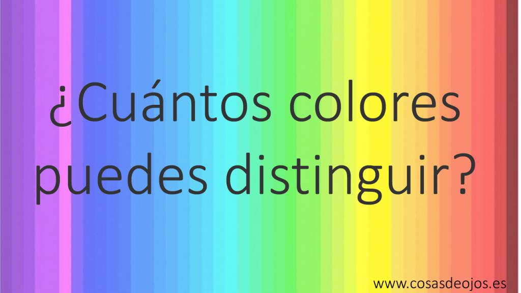 Cuantos colores puedes ver - FB1