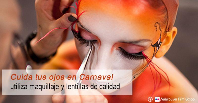 Cuida tus ojos durante el carnaval